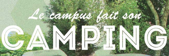 Le campus fait son camping