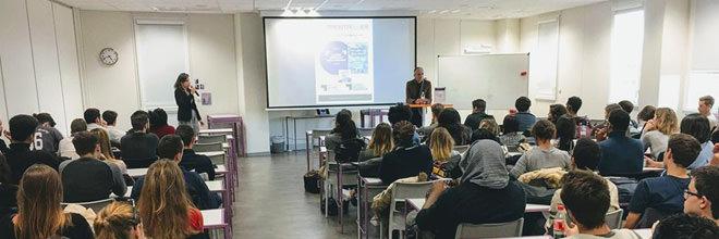 Conférence avec Mr Frédéric ENCEL, professeur à la PSB - Paris School of Business