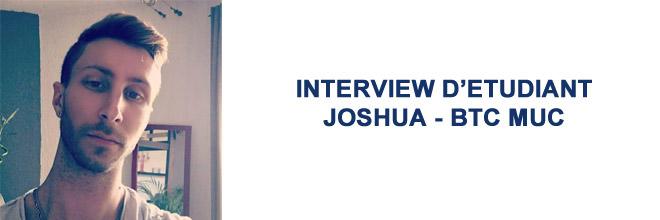 Joshua Lantelme - BTS MUC