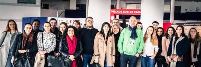 BTS Com esarc évolution à l'open Sud - Montpellier