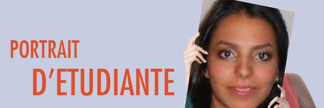 Portrait Marie-Claire Santiago - étudiante