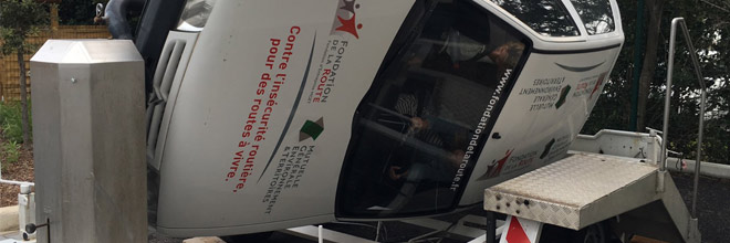 La prévention routière s'invite à ESARC Evolution Montpellier