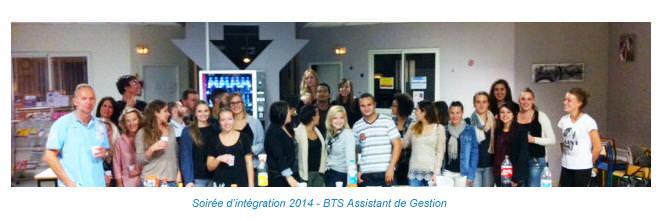 Soirée d'intégration - BTS Assistant de Gestion