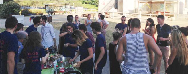 Barbecue des étudiants du BTS MUC