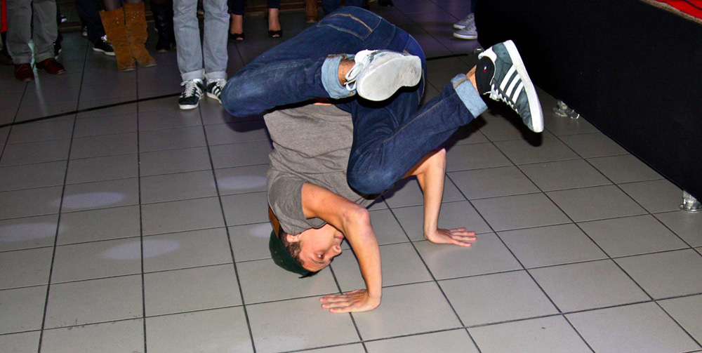 Florian et Yassin - Performances breakdance
