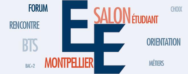 Salon l 39 etudiant de montpellier janvier 2015 ecole bts - Salon de l enseignement superieur montpellier ...