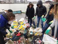 Time to react - la collecte de déchets des Bassins à Flots Bordeaux ESARC